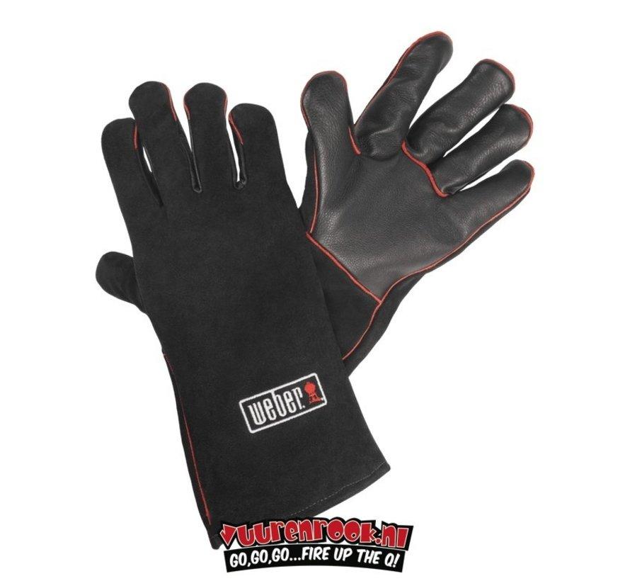 Weber BBQ Leather Gloves