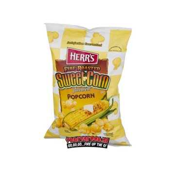 Herrs Sorry We Lost The Date: Herr's Fire Roasted Sweet Corn Flavored Popcorn 78 gram