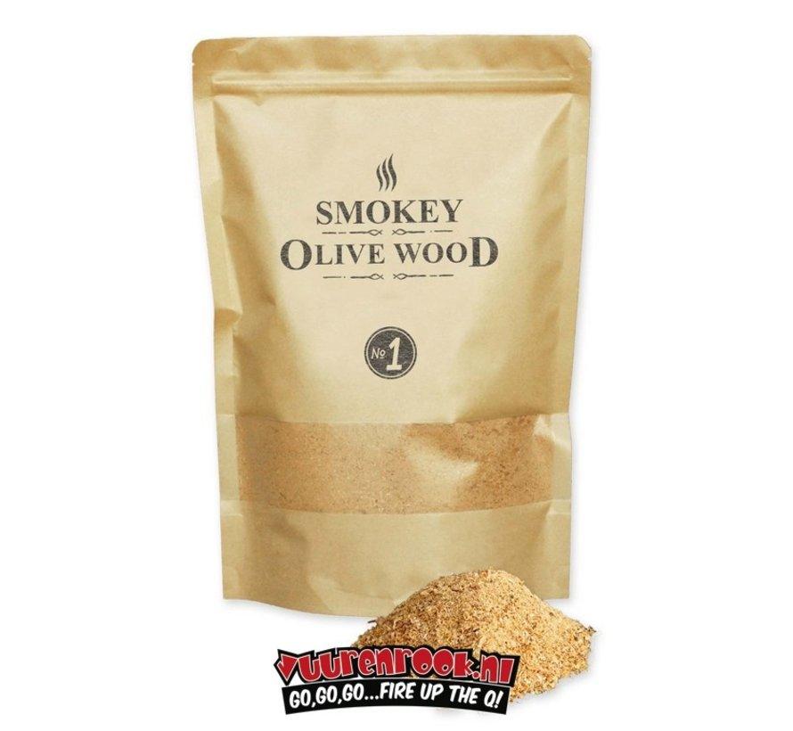 Smokey Olive Wood Olijf + Beuk Rookmot