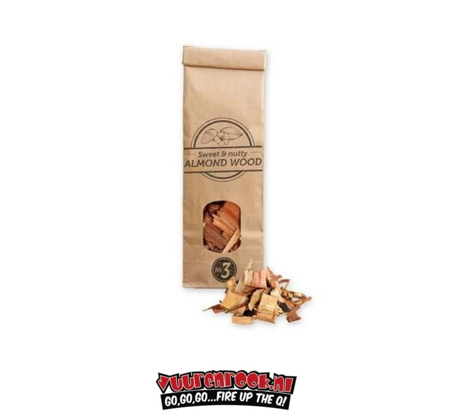 Smokey Olive Wood Almond Smoke-Chips