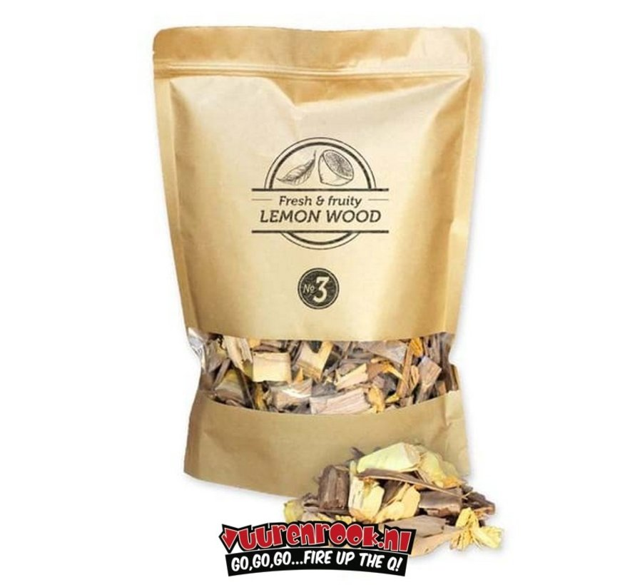 Smokey Olive Wood Lemon Smoke Chips