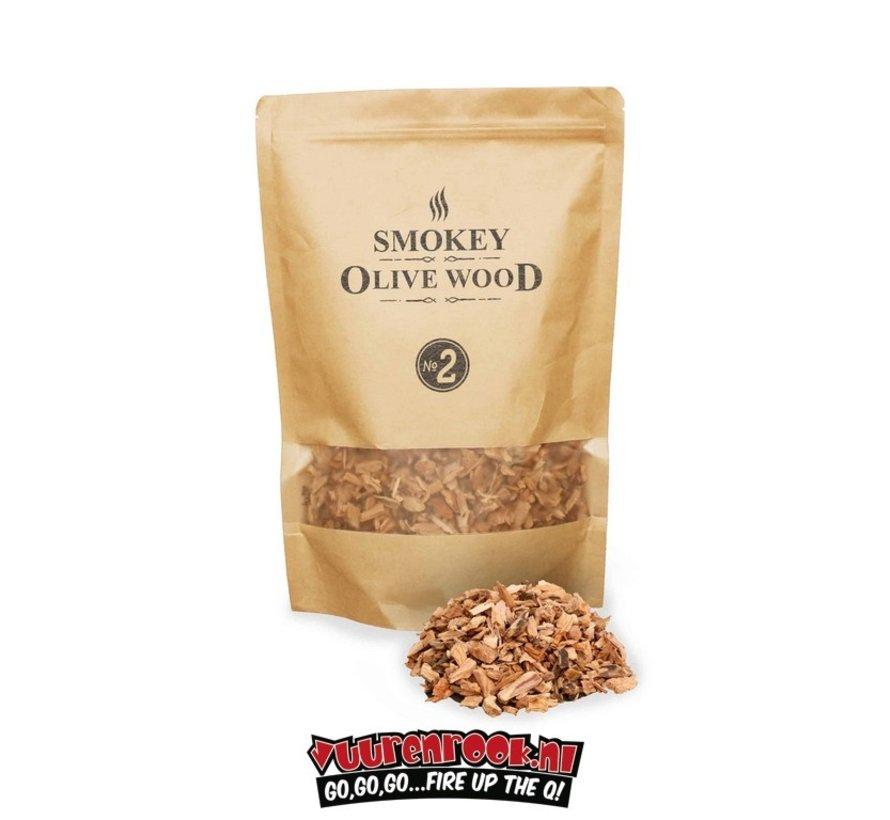 Smokey Olive Wood Olijf Rookchips
