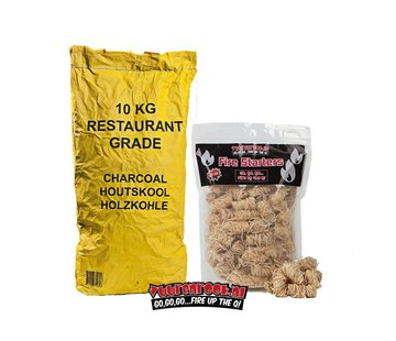 Horeca South African Restaurant Houtskool / Wokkels Deal 10 kg