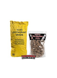 Catering South African Restaurant Charcoal / Fire Starters Deal 10 kg