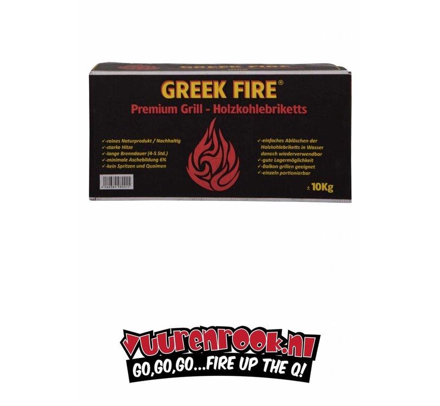 Greek Fire Briketten Tubes 10 kg / Wokkels Deal
