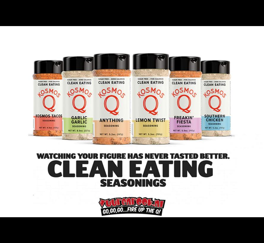 Kosmos Garlic Garlic Sugar Free Clean Eating Seasoning 8oz