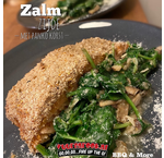 Salmon side with Panko crust