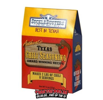 SuckleBusters Sucklebusters Texas Style Chili Seasoning Kit & Gift Box