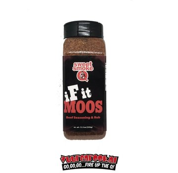Sweet Smoke Q Sweet Smoke Q 'If It Moos' Beef Seasoning & Rub 11.5 oz