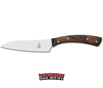 Robert Herder Robert Herder Flachschmieder Chef's knife Handforged Walnut 13 cm