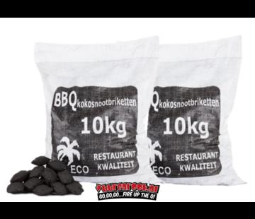 Hot Coconut Briketten Pillow Shape 2 x 10 kg Deal