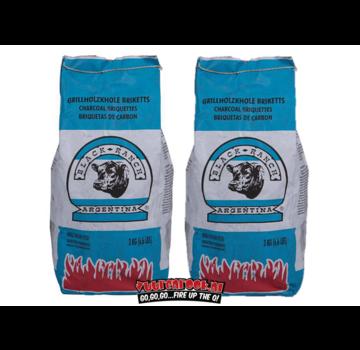 Black Ranch Black Ranch Red Quebracho Argentina Briquettes Pillow Shape 2 x 3 kg Deal