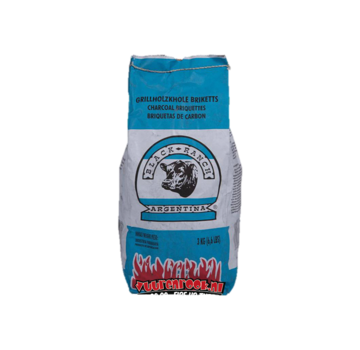 Black Ranch Black Ranch Red Quebracho Argentina Briquettes 3 kg
