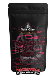 Saus.Guru Saus.Guru Solids Dry Rub Raspberry Rub Pitmaster Collection 320 gram