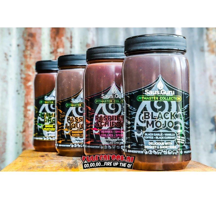 Saus.Guru Black Mojo Pitmaster Collection 1.12 liter