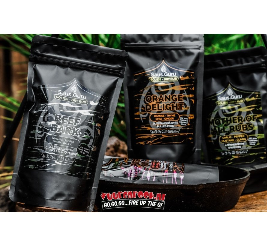 Saus.Guru Solids Dry Rub Mother Of All Rubs Pitmaster Collection 350 gram