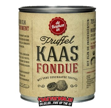Kaasfondue Truffel Kaasfondue 400 gram