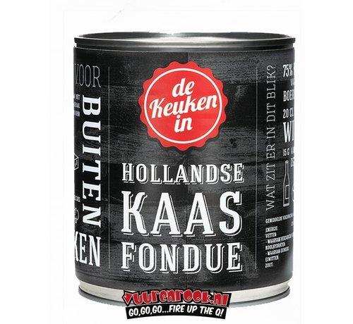 Kaasfondue Hollandse Kaasfondue 400 gram