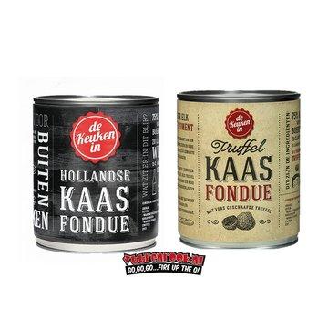 Kaasfondue Hollandse + Truffel Kaasfondue Deal 2 x 750 gram