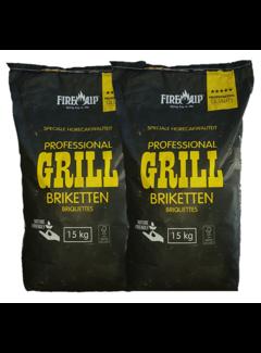 Peko PEKO / Fire Up, Briketts Horeca Acacia (Südafrika Black Wattle) 2x15 kg