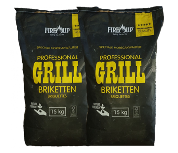 Peko PEKO / Fire Up, Horeca Acacia (South Africa Black Wattle) Briquettes 2x15 kg