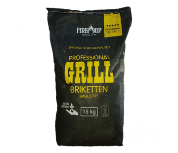 Peko PEKO / Fire Up, Horeca Acacia (South Africa Black Wattle) Briquettes 15 kg (Pillow Shape)
