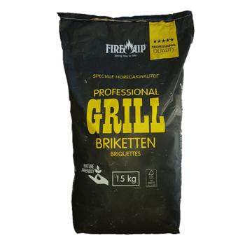 Peko PEKO / Fire Up, Horeca Acacia (South Africa Black Wattle) Briquettes 15 kg (Pillow Shape)