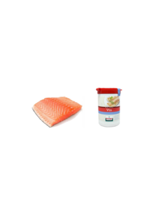 Vuur&Rook Norwegisches Lachsfilet 200 Gramm + Verstegen Mix Deal