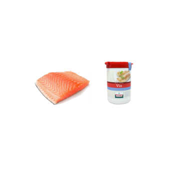 Vuur&Rook Noorse Zalmfilet 200 gram + Verstegen Mix Deal