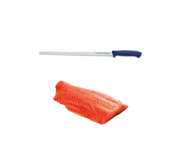 Vuur&Rook Hanging Cold Smoked Norwegian Salmon 1000 grams + F-Dick Pro Dynamic Salmon Knife 32 cm Deal