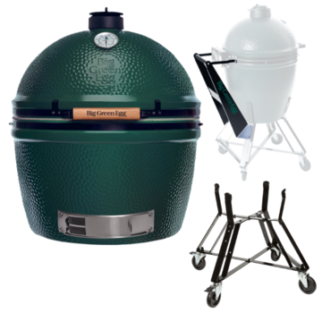 Big Green Egg Big Green Egg XXLarge + Nest + Handler
