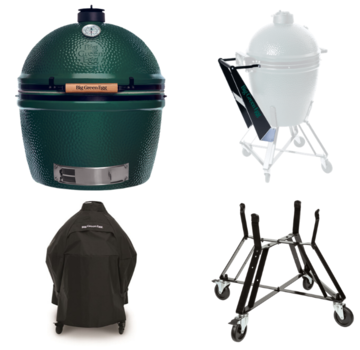 Big Green Egg Big Green Egg XXLarge + Nest + Handler + Cover