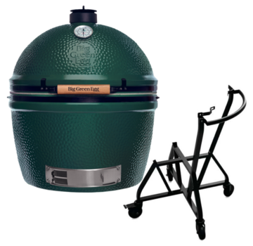 Big Green Egg Big Green Egg XXLarge + Integgrated Nest + Handler