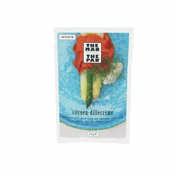The Man With The Man Der Mann mit der Pfanne Spargel Mix Zitrone Dill Creme Sachet 10 Gramm