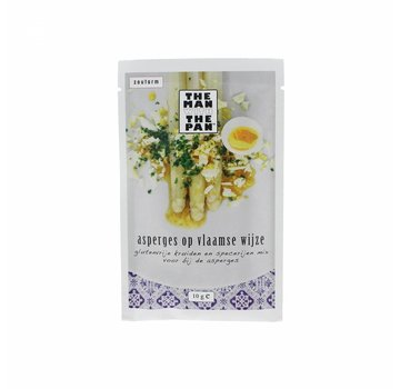 The Man With The Man The Man With The Pan Asparagus Mix Sachet 10 grams