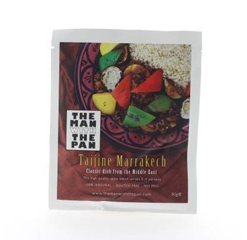 The Man With The Man The Man With The Pan Spice Mix Tajine Marrakech Sachet 30 grams