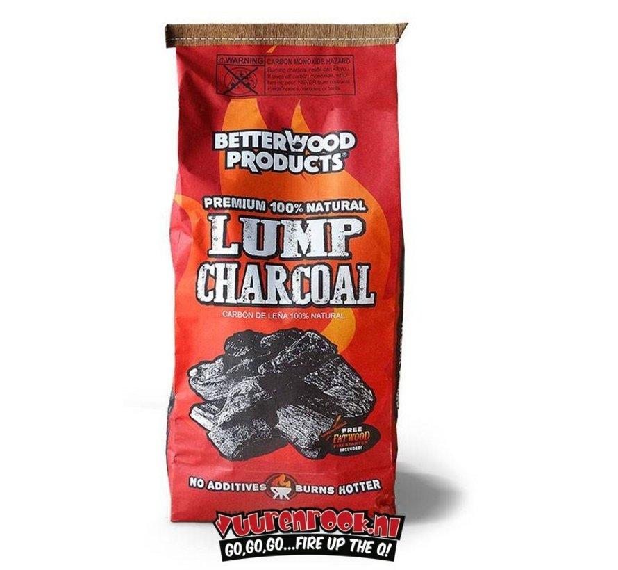 BetterWood Charcoal / Wokkels Deal 8 kg