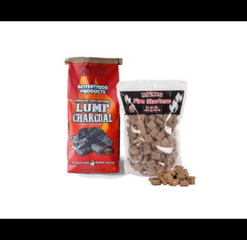 Betterwood BetterWood Charcoal / Fire Starters Deal 8 kg