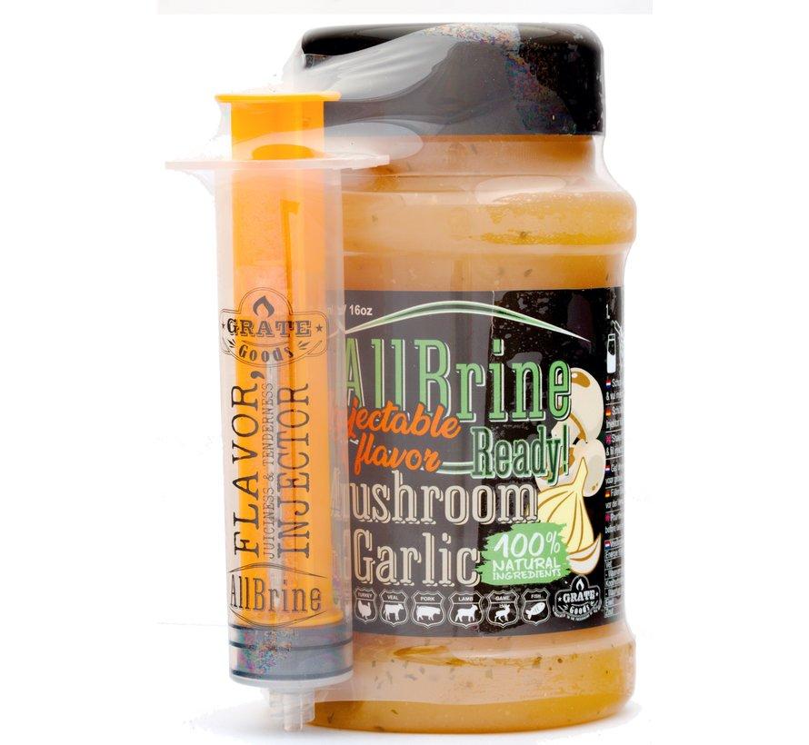Grate Goods All Brine Mushroom & Garlic 475 ml