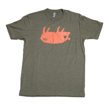 PK Grill PK Grills Pig Tee Shirt in Green