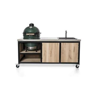 Oak Table Inferno Large Big Green Egg Medium & Large