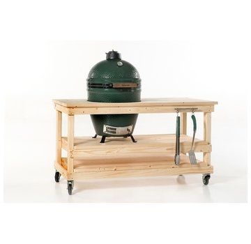 Steigerhouten tafel Big Green Egg Medium & Large