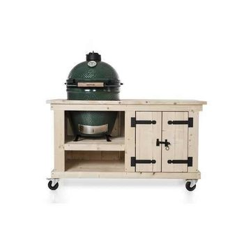Steigerhouten tafel Storage Big Green Egg Medium & Large