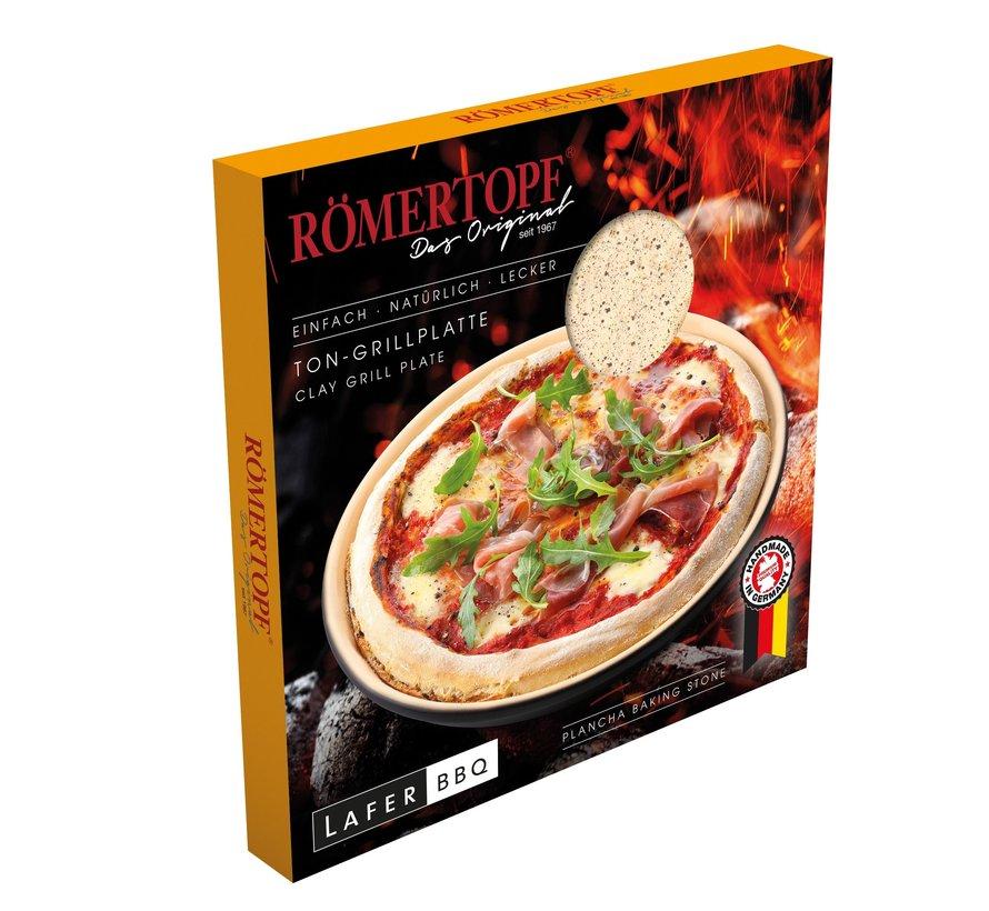 Römertopf Pizzastein Ø32 cm