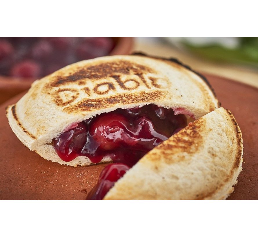 Diablo Pie Iron Sandwich Eisen