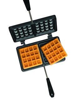 Vuur&Rook Double Waffle Iron Pie Iron