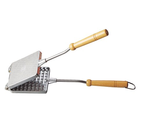 Vuur&Rook Aluminium Wafelijzer Pie Iron