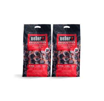 Weber Weber Briquettes Pillow Shape 2 x 8 kg Deal
