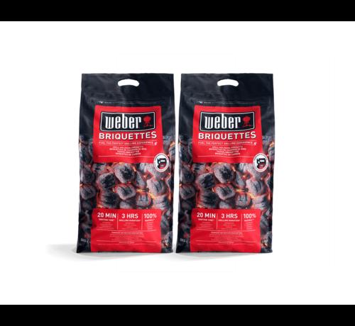 Weber Weber Briketten Deal 2x8 kg