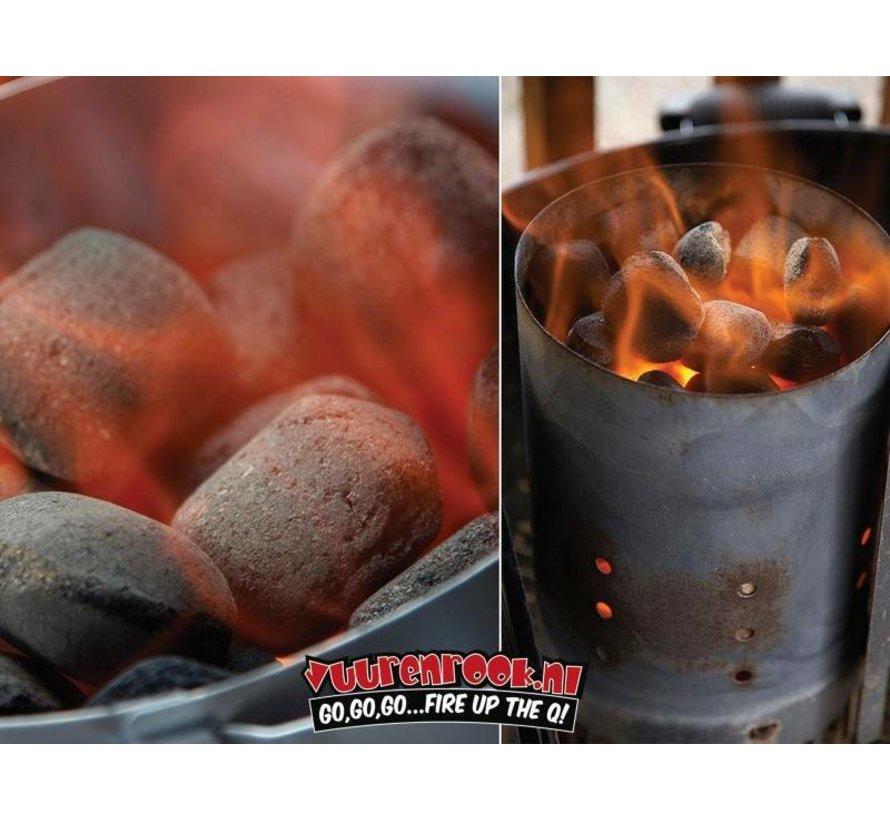 Weber Briquettes / Wooden Fire Starters Deal 8 kg